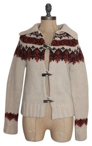 Roots Navajo Outdoors Wool Knit Winter Cardigan