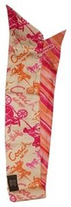 Coach Coach Carriage Ponytail Scarf