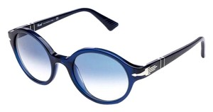 Persol NEW Persol Sunglasses 3098 Blue Round Frame Circle