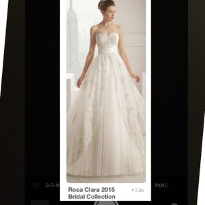 Rosa Clar Wedding Dress