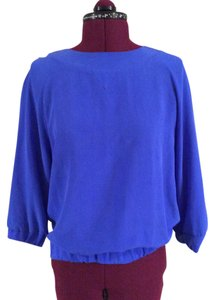 Band of Outsiders Top Blue