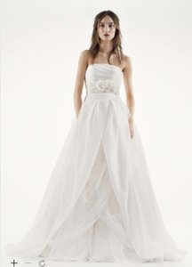 White By Vera Wang Textured Organza Wedding Dress Wedding Dress