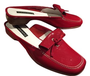 Claudia Ciuti Red Mules