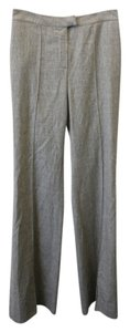 Fendi Gray Wool Work Trouser Pants light gray