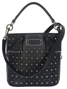 Alexander McQueen Skull Crossbody Satchel in Black