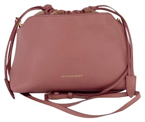 Burberry Pink Leather Cross Body Bag