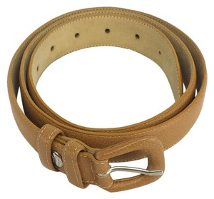 Longchamp Tan Leather Belt