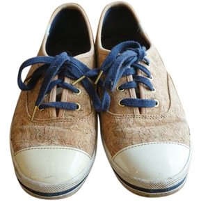 Kate Spade New Keds Sneaker Cork blue and white Flats