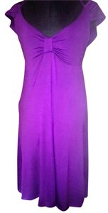 jayli short dress purple on Tradesy