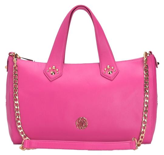 Preload https://item3.tradesy.com/images/juicy-couture-hollywood-cosmo-pink-leather-satchel-1709377-0-0.jpg?width=440&height=440