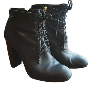 Elizabeth and James Lace Up Ankle Boot Black Boots