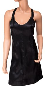 Helmut Lang Silk Contrast Dress