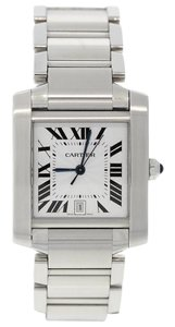 Cartier Cartier Unisex Stainless Steel Tank Francaise