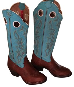 Tony Lama Turquoise, brown Boots