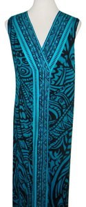 Teal Maxi Dress by Soft Surroundings
