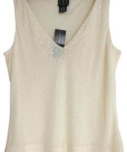 INC International Concepts Top Creamy/Beige
