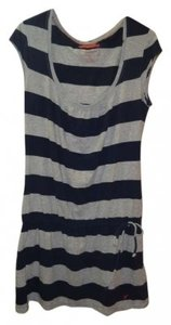 American Eagle Outfitters short dress blue and gray on Tradesy