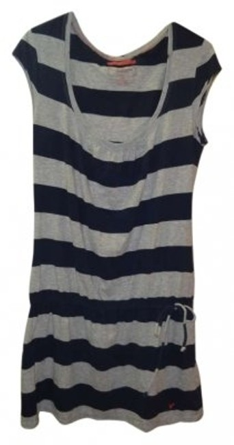 Preload https://item3.tradesy.com/images/american-eagle-outfitters-blue-and-gray-above-knee-short-casual-dress-size-12-l-170947-0-0.jpg?width=400&height=650