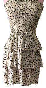 Dolls Point short dress Beige Horse Equestrian Strapless on Tradesy