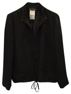 Harv Benard Black, with subtle stripes Jacket