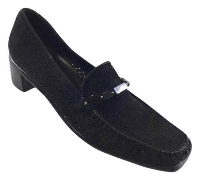 Item - Black Suede Formal Shoes Size US 7.5 Narrow (Aa, N)