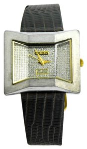 Croton Croton 18K Gold and Stainless Steel Equator Ladies Watch