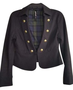 Anthropologie Goldbuttons Military Jacket