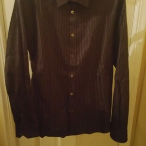 Ted Baker Button Down Shirt Purple