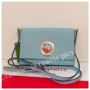 Kate Spade Flap Saffiano Leather Small Shoulder Bag