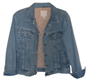 J. Jill Denim Womens Jean Jacket