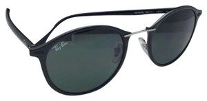 Ray-Ban New RAY-BAN Tech Series Sunglasses RB 4242 601/71 49-21 Black Frame w/ Green Lenses