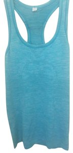 Lululemon Lululemon Run Swiftly Racerback Tank, Heathered Peacock Blue, Size 4