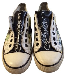 Ed Hardy Black, Yellow, White, Green Athletic