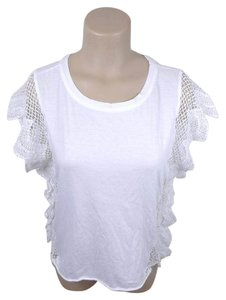 House of Harlow 1960 Lace Top white