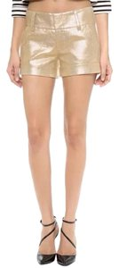 Alice + Olivia Mini/Short Shorts Gold