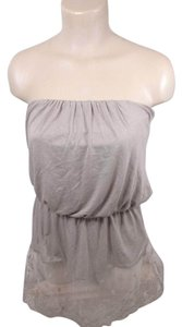 Arden B. Lace Strapless Tunic Top