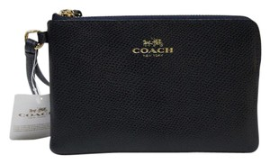 Coach F53429 Nwt Navy 889532509355 Wristlet in Midnight
