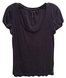 American Eagle Outfitters T Shirt Navy blue