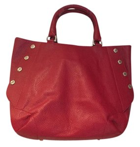 Furla Tote in cherry red