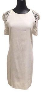 Sandro short dress White on Tradesy