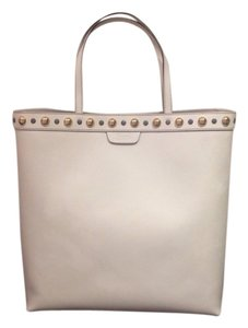 Gucci Leather Tote in WHITE
