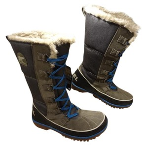 Sorel gray and birch Boots