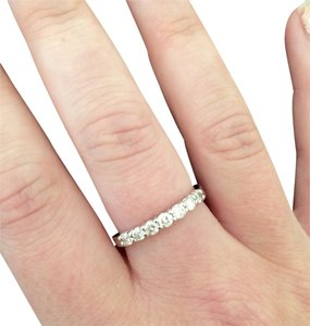 1/2 Carat 7 Diamond Band Ring