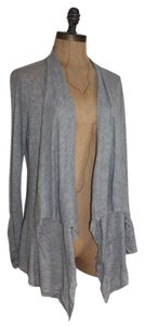 Anthropologie Heather Draped Raw Edge Cardigan