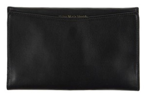 Maison Margiela NEW! MAISON MARTIN MARGIELA CLASSIC BLACK LEATHER BIFOLD WALLET