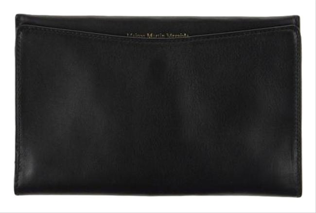 Maison Margiela Black New Classic Leather Bifold Wallet Maison Margiela Black New Classic Leather Bifold Wallet Image 1