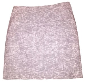 Banana Republic Work Pencil Grey Mini Skirt grey/white
