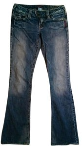 Size 25 Boot Cut Jeans-Medium Wash