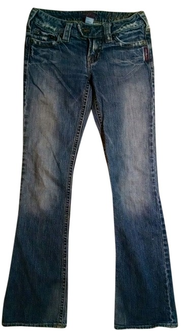 Other Size 25 Low Rise P1125 Boot Cut Jeans-Medium Wash