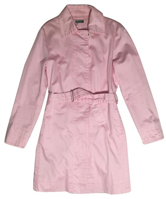 Item - Pink Belted Coat Size 4 (S)